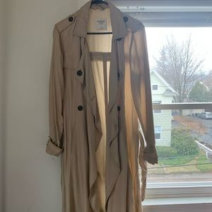 Abercrombie & Fitch trench coat style jacket
